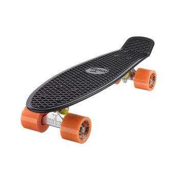 """Ridge Ridge Retro board 22"""" black met orange wheels"""