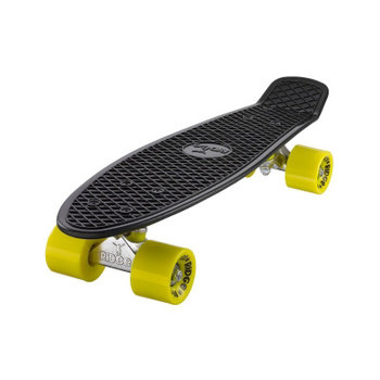 "Ridge Ridge Retro board 22"" black met yellow wheels"