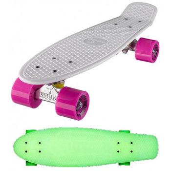 """Ridge Ridge Retro board 22"""" Glow with pink wheels"""