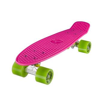 "Ridge Ridge Retro board 22"" Pink met green wheels"