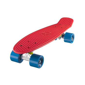 "Ridge Ridge Retro board 22"" Red with blue wheels"