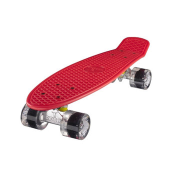 "Ridge Ridge Retro board 22"" Red with clear wheels"