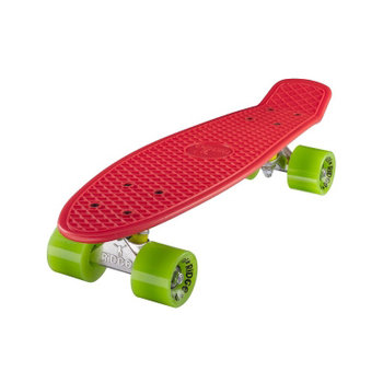 "Ridge Ridge Retro board 22"" Red with green wheels"