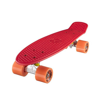 "Ridge Ridge Retro board 22"" Red with orange wheels"