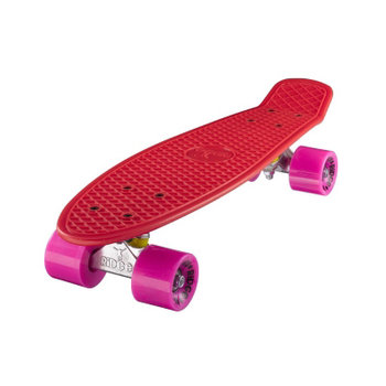 "Ridge Ridge Retro board 22"" Red with pink wheels"
