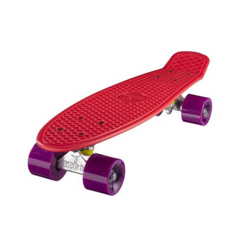 "Ridge Ridge Retro board 22"" Red with purple wheels"
