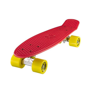 "Ridge Ridge Retro board 22"" Red with yellow wheels"