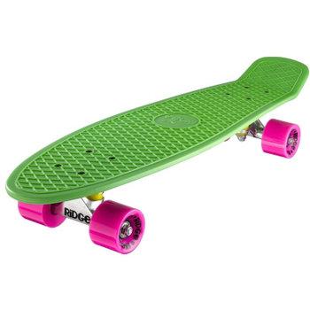 "Ridge Ridge Retro board 27"" Green met pink wheels"