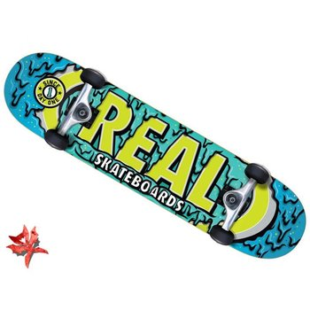 Real Real Ooze Oval Skateboard 7.75 ''