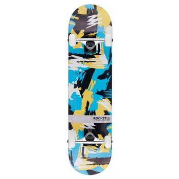 Rocket Skateboards Rocket Skateboard Distinct Abstract 7.75