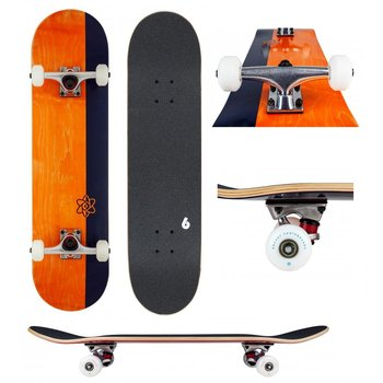 Rocket Skateboards Rocket Skateboard Invert Orange 7.75