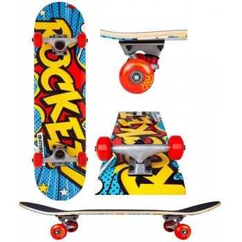 """Rocket Skateboards Rocket Skateboard mini Popart 7.5"""""""