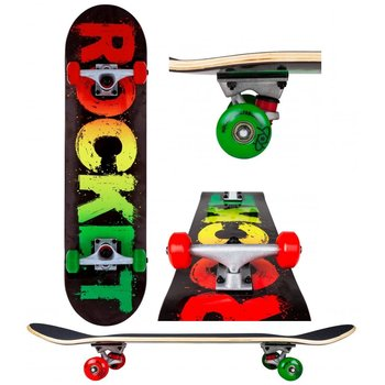 Rocket Skateboards Rocket Skateboard Rasta Fade 8.0""