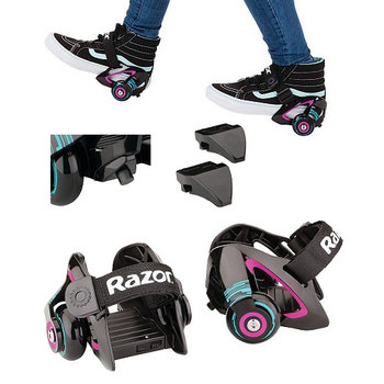 Razor Razor Jetts heel wheels purple