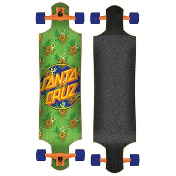 Santa Cruz Longboard Santa Cruz Vacation Dot 40 Green