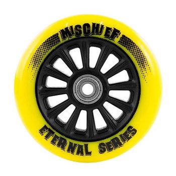 Slamm 110mm geel nylon core stuntstepwiel