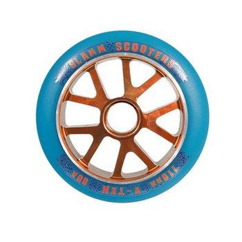 Slamm 110mm orange aluminium core stuntstepwiel