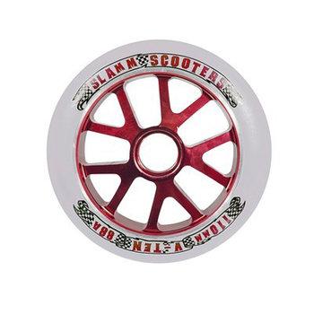 Slamm 110mm red aluminium core stuntstepwiel