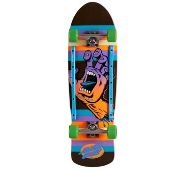 Santa Cruz Screaming Hand Kicktail Cruiser Neon 9.42