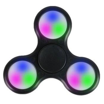 Fidget Fidget Spinner LED zwart