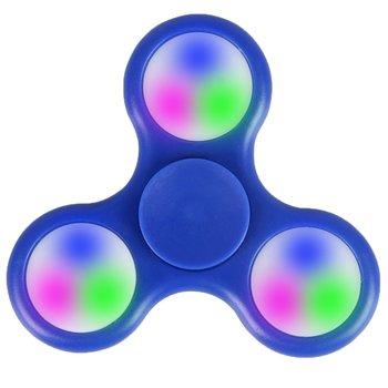 Fidget Fidget Spinner LED Blau
