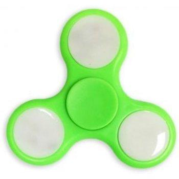 Fidget Fidget Spinner LED groen