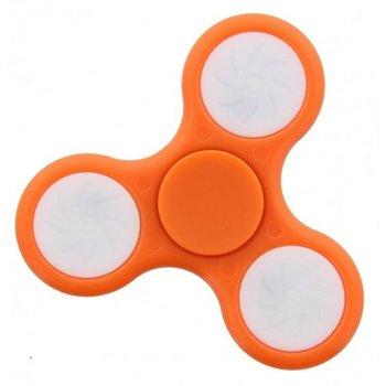 Fidget Fidget Spinner LED Orange