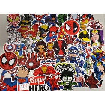 Stickerset Heroes
