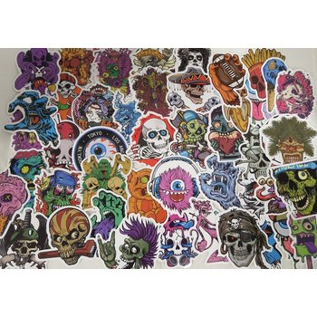 Stickerset terror 1