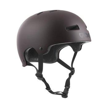 TSG TSG Evolution Helm Satin Schwarze Schokolade