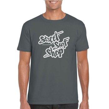 Streetsurfshop SSS Logo T-shirt Charcoal