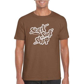 Streetsurfshop SSS Logo T-shirt Chestnut
