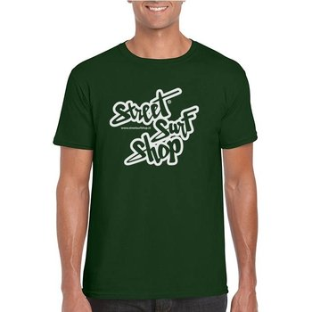 Streetsurfshop SSS Logo T-shirt Forest Green