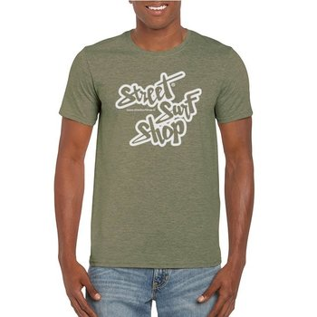 Streetsurfshop SSS Logo T-shirt Military Green