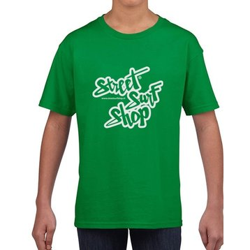 Streetsurfshop Logo T-shirt Kids Irish Green