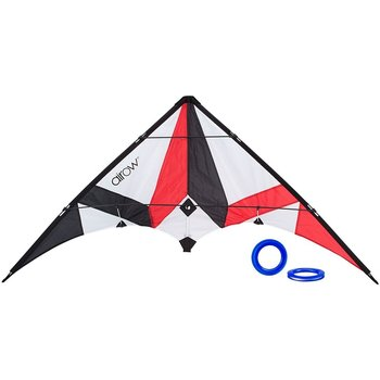 Airow Airow Delta Stuntvlieger Tornado rood 115cm