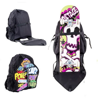 Voltage Voltage Comic Skate en Skateboard Backpack