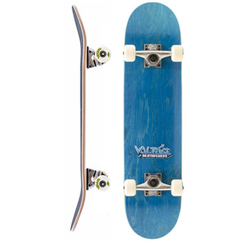 Voltage Voltage Graffiti Logo Blue Skateboard