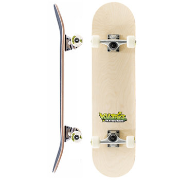 Voltage Voltage Graffiti Logo Yellow Skateboard