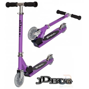 JD Bug JD Bug kinderstep 120mm purple