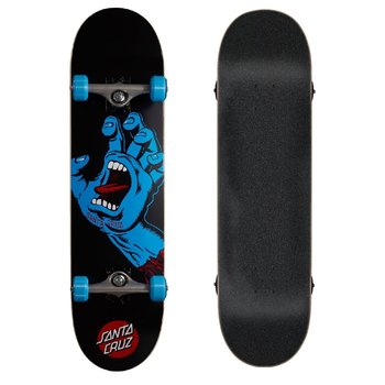Santa Cruz Santa Cruz Screaming Hand 8.0'' Skateboard black blue