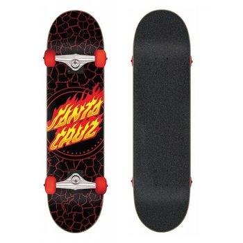 Santa Cruz Santa Cruz Classic Flame Dot 8.0 skateboard