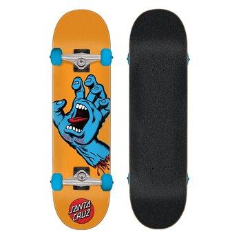 Santa Cruz Santa Cruz Skateboard Screaming Hand 7.8' orange blue