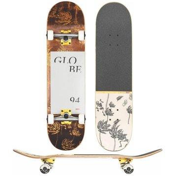 "Globe Globe G2 Typhoon Skateboard Yellow 8.0"""