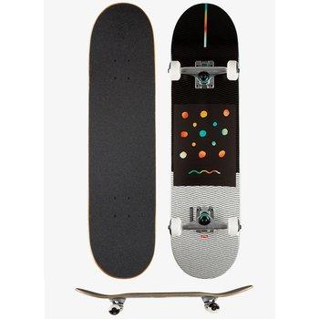 Globe Globe G1 Nine Dot 4 Skateboard 8.0 schwarz weiß