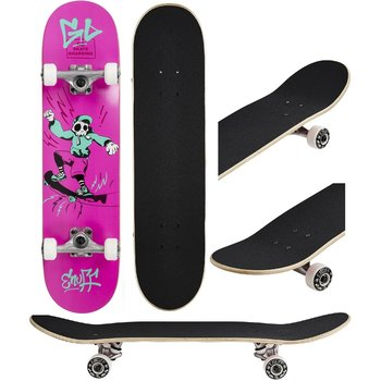 Enuff Genug Skully Skateboard Pink