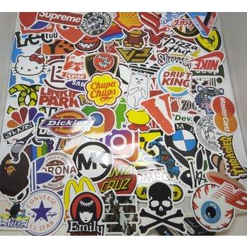 Stickerset All Brands