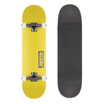 "Globe Globe Goodstock Skateboard Neon Yellow 7.75"""