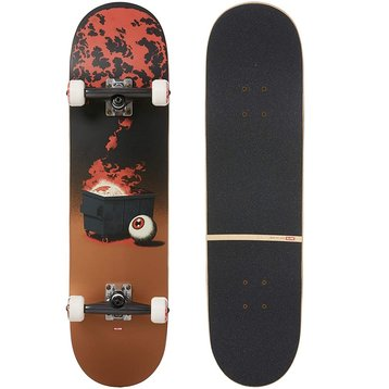 Globe Globe G2 On The Brink 8.25 Dumpster Fire skateboard