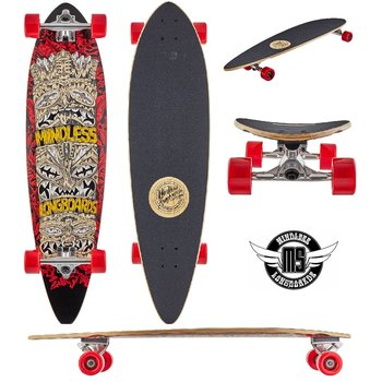 Mindless Mindless Longboard Rogue IV Red